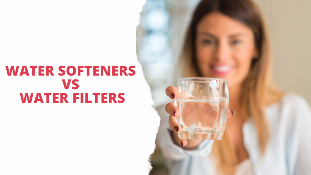 Water Softeners vs Water Filters